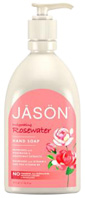 Invigorating Hand Soap Rosewater 16 oz. Jason Natural Cosmetics