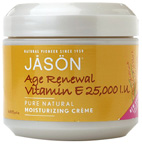Age Renewal Vitamin E Creme 25,000 IU 4 oz. Jason Natural Cosmetics