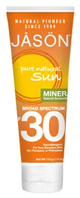 Mineral Sunscreen Broad Spectrum SPF30, 4 oz. Jason Natural Cosmetics