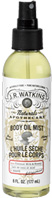 Body Oil Mist Coconut Milk & Honey 6 oz. J.R. Watkins