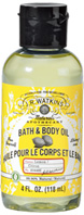 Body Oil Lemon 4 oz. J.R. Watkins