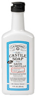Pure Castile Liquid Soap Peppermint 11 oz. J.R. Watkins