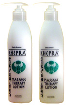 MassageTherapy Lotion, 8oz. Khepra Skin Care