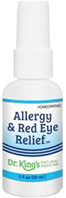 Allergy & Red Eye Relief, 2 oz. King Bio