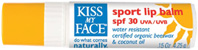 Sport Lip Balm SPF 30, .15 oz. Kiss My Face
