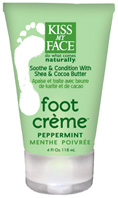 Foot Creme Peppermint 4 oz. Kiss My Face