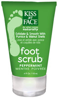 Foot Scrub Peppermint 4 oz. Kiss My Face