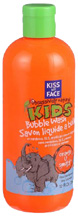Kids Orange U Smart Bubble Wash 12 oz. Kiss My Face