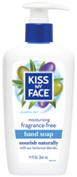 Moisturizing Hand Soap Fragrance Free Kiss My Face