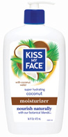 Coconut Moisturizer16 oz. Kiss My Face