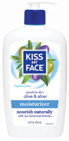 Fragrance Free Olive & Aloe Moisturizer16 oz. Kiss My Face
