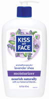 Lavender & Shea Butter Moisturizer16 oz. Kiss My Face