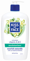 Vitamin A & E Moisturizer16 oz. Kiss My Face
