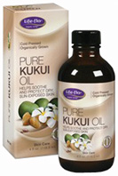 Pure Kukui Oil 4 oz. Life Flo