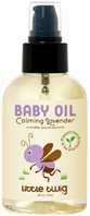 Baby Oil Calming Lavender 4 oz. Little Twig