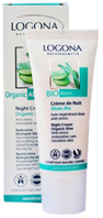 Organic Aloe Night Cream 1.35 oz. Logona Cosmetics