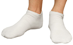 Organic Cotton Footie Solid Socks