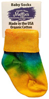 Tie Dye Anklet INFANT Maggie's Organics