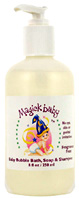 3 in 1 Bubble Bath, Soap & Shampoo 8 oz. Magick Botanicals