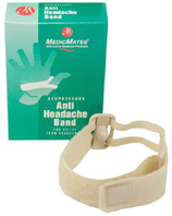Anti Headache Accupressure Band: Medic Mates