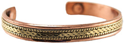 Copper Bracelet Poise Design MRH International