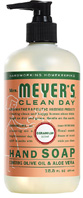 Liquid Hand Soap Geranium 12.5 oz. Mrs. Meyers Clean Day