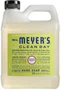 Liquid Hand Soap Lemon Verbena 33 oz. Mrs. Meyers Clean Day
