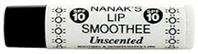 Lip Smoothee Lip Balm SPF10 Unscented, .18 oz. Nanak's