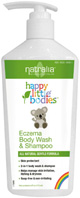 Eczema Body Wash and Shampoo 6 oz.Natralia
