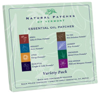 Essential Oil Patches Variety Pack 8 ct. Naturopatch of Vermont