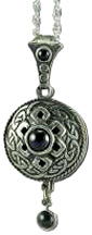 Diffuser Pendant Necklaces Celtic Antiquity/Onyx Nature's Alchemy