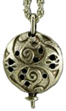 Diffuser Pendant Necklaces Oriental Dome Nature's Alchemy