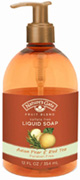 Liquid Hand Soap Asian Pear & Red Tea 12 oz. Nature's Gate Organics