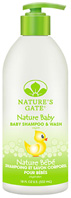 Baby Soothing Shampoo & Wash 18 oz. Nature's Gate
