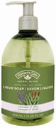 Organic Liquid Soap Lavender & Aloe 12 oz. Nature's Gate