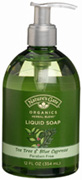 Organic Liquid Soap Tea Tree & Blue Cypress 12 oz. Nature's Gate