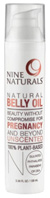 Natural Belly Oil 3.34 oz. Nine Naturals