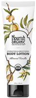 Hydrating & Smoothing Body Lotion Almond Vanilla 8 oz. Nourish Organic