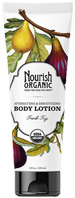 Hydrating & Smoothing Body Lotion Fresh Fig 8 oz. Nourish Organic