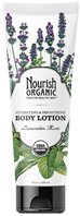 Hydrating & Smoothing Body Lotion Lavender Mint 8 oz. Nourish Organic