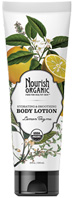 Hydrating & Smoothing Body Lotion Lemon Thyme 8 oz. Nourish Organic