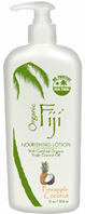Body Lotion Pineapple Coconut 12 oz. Organic Fiji