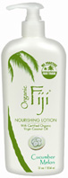 Body Lotion Cucumber Melon 12 oz. Organic Fiji