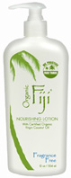 Body Lotion Fragrance Free 12 oz. Organic Fiji
