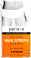 Wax Strips - Face & Bikini: Parissa Labs