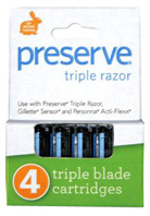 Triple Replacement Blades 4-Pack Preserve Recycline