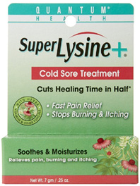 Super Lysine + Cold Sore Treatment 0.25 oz. Quantum Inc.