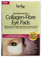 Collagen Fiber Eye Pads w/ Myoxinal 3 pairs Reviva Labs
