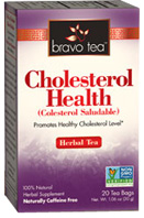 Herbal Tea Cholesterol Healthh 20 bags Bravo Tea