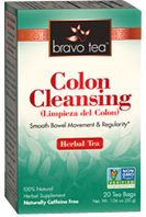 Colon Cleansing Tea 20 bags Bravo Tea